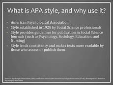 What Is Apa Style Apa Style The Basics презентация онлайн