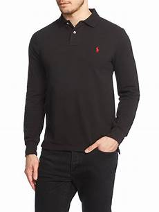 lyst polo ralph plain polo shirt sleeve slim
