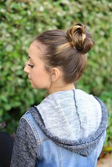 how to create a crown bun cute girls hairstyles
