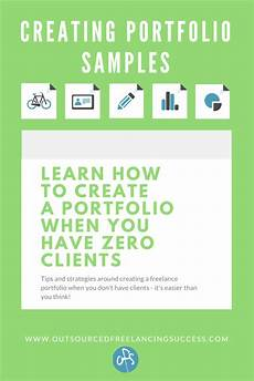 Creating A Portfolio How To Create Freelance Portolio Samples