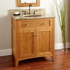30 quot halbur bamboo vanity for undermount sink bathroom