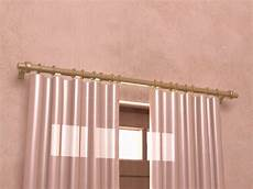How To Hang Curtain Rods How To Install Curtain Rods 11 Steps With Pictures