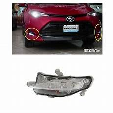Corolla 2017 Fog Lights 2017 2018 Toyota Corolla Le Xle Daytime Running Fog Light