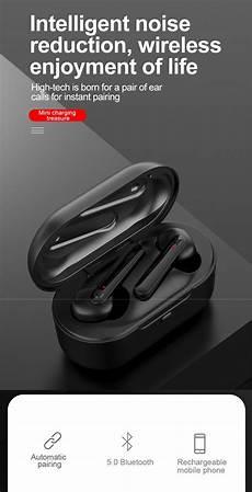 Bakeey Bluetooth Wireless 2600ma Power Bank by Bakeey A10 Tws Wireless Bluetooth 5 0 Earphone Stereo