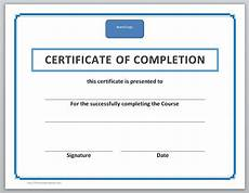 Certificate Of Training Template Free 13 Free Certificate Templates For Word 187 Officetemplate Net