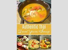 Authentic Thai Tom Yum Soup Recipe