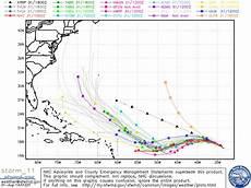 Irma Spaghetti Charts Hurricane Irma Projected Path Spaghetti Models