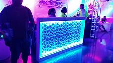 Dj Lighted Facade Led Bar Front And Dj Booth Facade 24 Seven Productions
