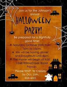 Halloween Invites Geneawebinars Quot Preserving Those Fun Autumn Memories Quot