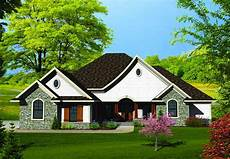 Home Design Story Single Story Country Home 89803ah Architectural