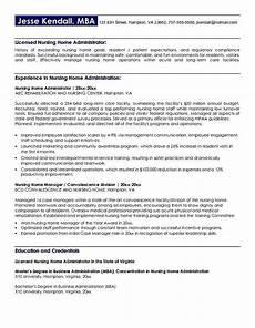 Nursing Administrator Resume Nursing Home Administrator Resume Nursing Home