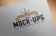 Logo Mockup Free Logo Mock Up Paper Edition 1 Punedesign
