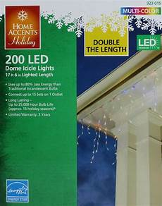 Home Accents Holiday Icicle Lights Christmas Home Accents Holiday 200 Multi Dome Icicle
