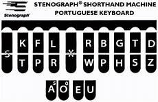 Steno Machine Keyboard Chart International Shorthand Keyboards