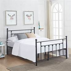 vecelo metal beds metal platform bed frames with