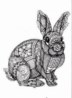 Malvorlage Hase Mandala Mandala Hase Tattoos Ausmalen