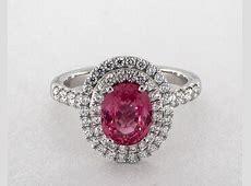 Pink Sapphire Engagement Rings   JamesAllen.com