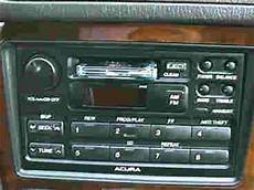 Acura Legend Stereo Amp Cd Player Repairs