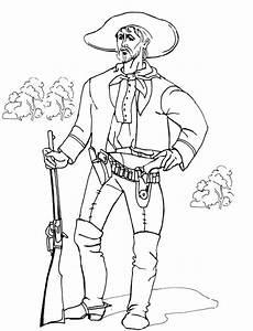 ausmalbilder cowboy ausmalbilder