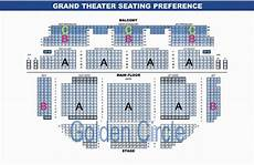 The Harv Seating Chart Seating Chart The Grand