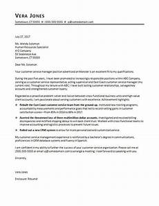 Cover Letters For Customer Service Customer Service Cover Letter Sample Monster Com