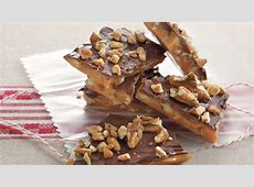 Milk Chocolate Pecan Toffee Recipe   BettyCrocker.com