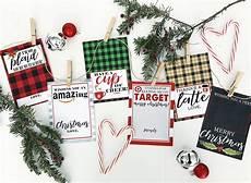 Free Printable Gift Cards Christmas Gift Card Holder Free Printables Crisp Collective