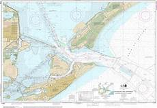 Texas City Tide Chart Noaa Chart Galveston Bay Entrance Galveston And Texas