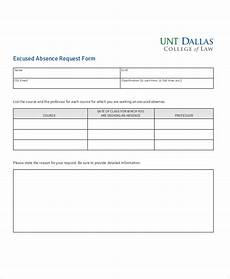 Absence Request Form Template Free 11 Sample Absence Request Forms In Ms Word Pdf