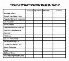 Sample Budget Planner Free 9 Sample Budget Planner Templates In Pdf Excel