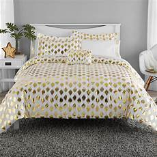 mainstays gold dot bed in a bag bedding walmart