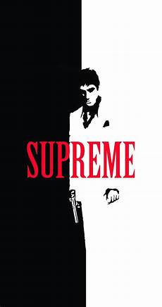 scarface wallpaper iphone scarface x supreme split iphone wallpaper cool things