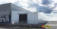 capannone mobile un capannone mobile kopron per berardi bullonerie a bologna
