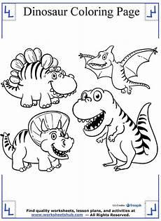 Dinasor Coloring Cartoon Dinosaurs Coloring Page Dinosaur Coloring Pages