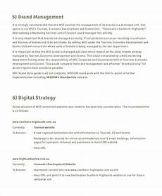 Branding Strategy Template Free 6 Sample Branding Strategy Templates In Ms Word Pdf