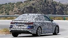 audi a3 limousine 2020 neue audi a3 limousine 2020 in s line optik erwischt