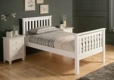 shaker white wooden bed frame 163 159 00 white wooden