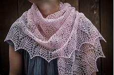 renee knits shetland lace triangle shawl