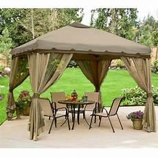 gazebo walmart 10 x 10 portable gazebo replacement canopy garden winds