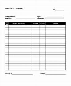 Sales Call Reports Templates Free Sales Call Report Template 12 Free Word Pdf Apple