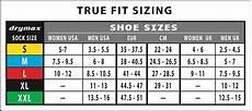 Nike Womens Socks Size Chart Drymax Sock Size Chart Irunfar Your Trail Running