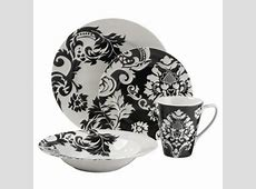 The Cheap Diva: Black and White Dishes in Delicious Designs