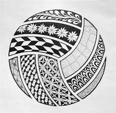 Cool Volleyball Designs Zentangle Wallpaper Image Gallery Photonesta