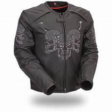 racing coats for s racing 174 raceway reflective skull jacket black