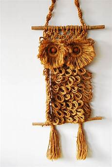 for your pad the macrame owl wall hanging