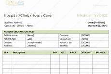 Medicine Bill Format In Word Medical Bills Format Word Dotxes