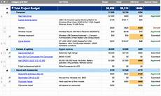 Project Management Budget Template Free Project Management Templates Smartsheet