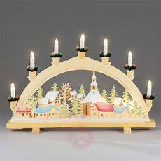 Arch Lights Advent Candle Arch Christmas Village 57 Cm Lights Co Uk