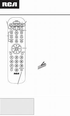 Rca Universal Remote Rcr4273 User Guide Manualsonline Com