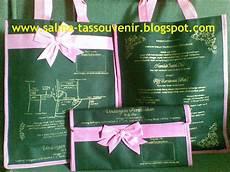 hasil pesanan undangan tas polos dengan alas